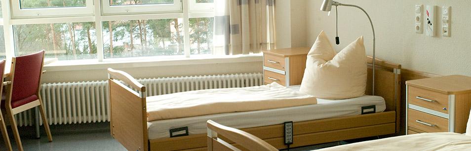 Ausstattung pflegezentrum malteser waldkrankenhaus erlangen ggmbh - Fernseh zimmer ...